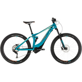 Cube Sting Hybrid 120 Race 500 Naiset, turquoise'n'apricot